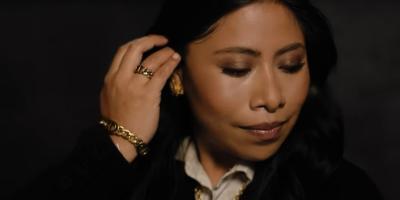 Yalitza Aparicio forma parte de la nueva campaña de Dior encabezada por Charlize Theron